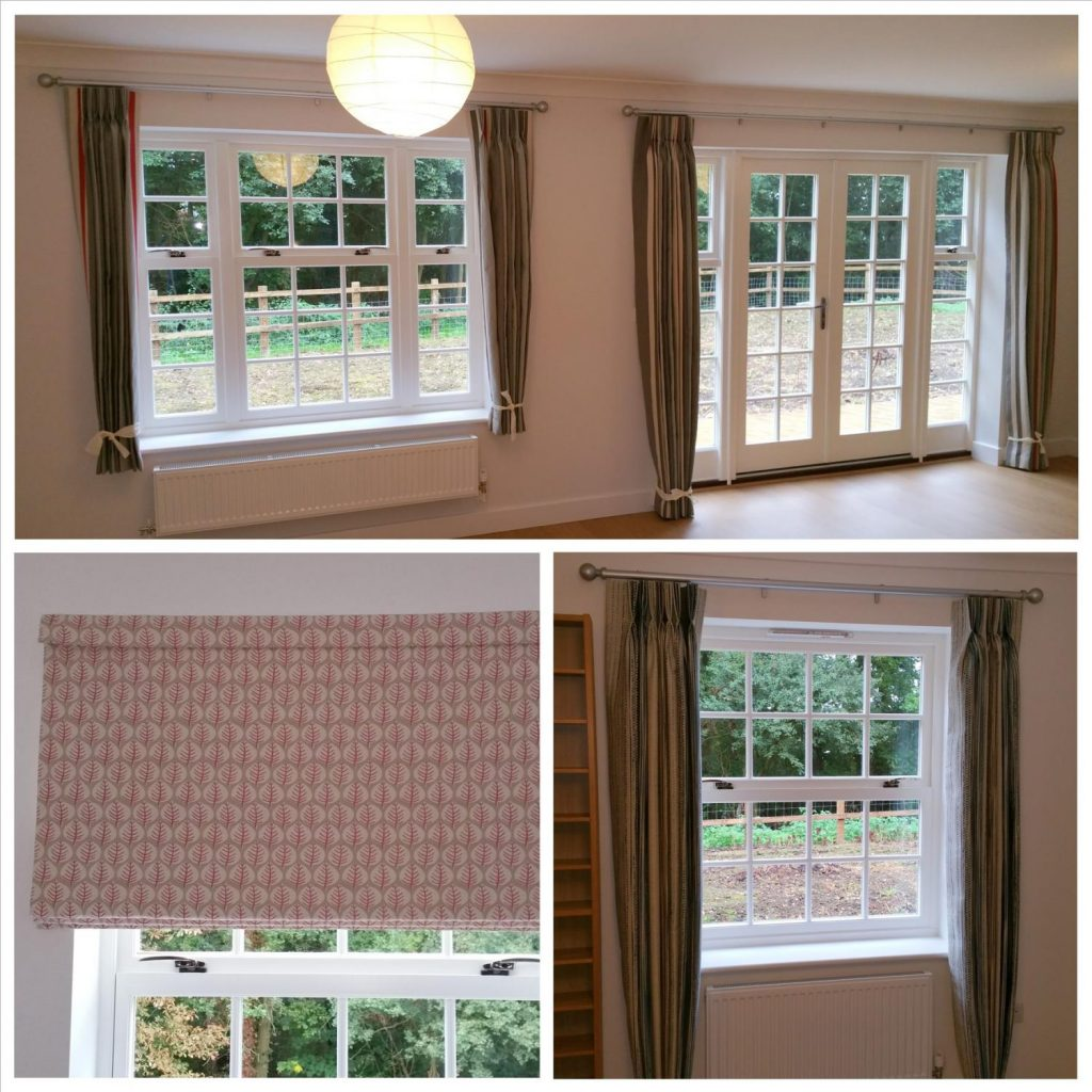 Curtains, Poles & Roman Blinds