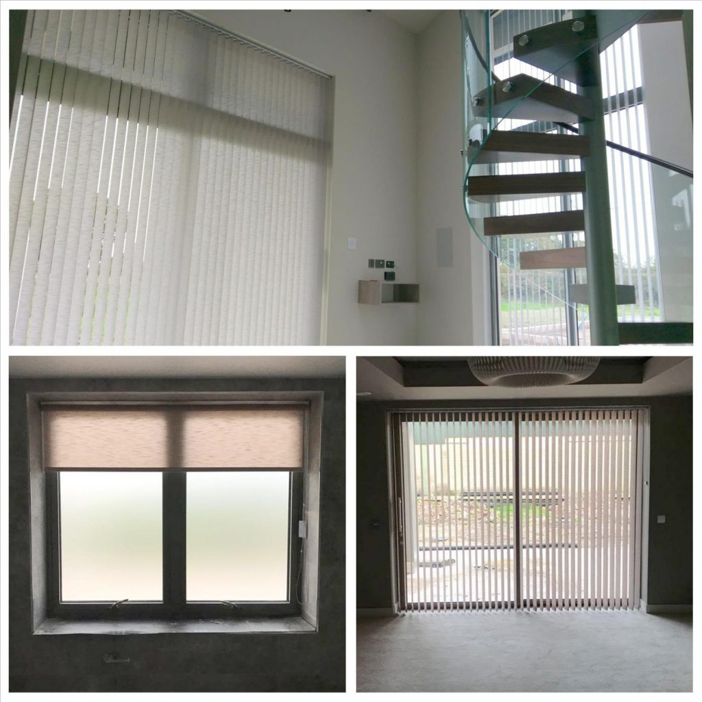 Vertical, Roller & Vision Blinds