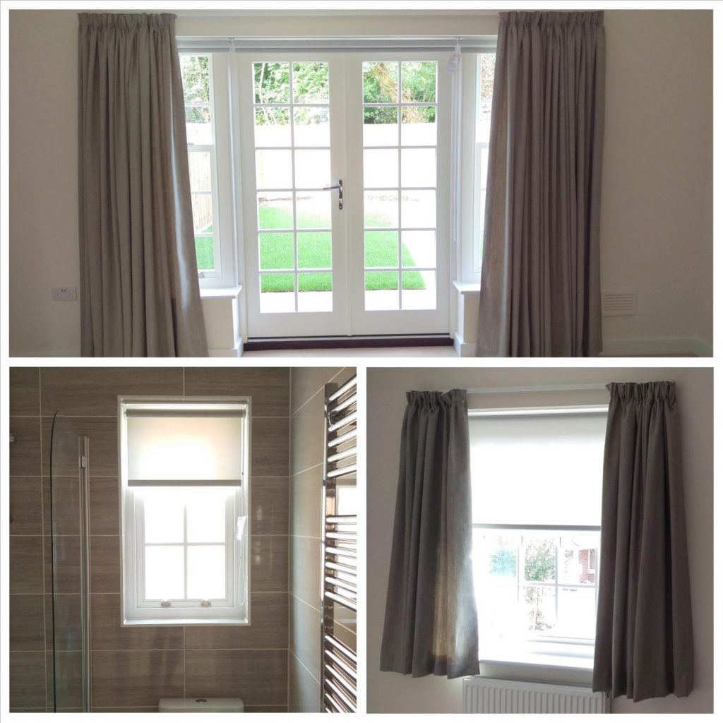 Curtains, Tracks & Roller Blinds